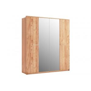 шафа 4дв дзеркало, спальня нікі, nk-14-kr Міромарк