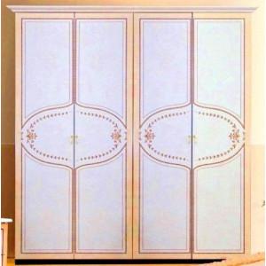 Шафа 4дв (без зеркал), спальня Мартіна, (mr-24-rb/rm) Міромарк