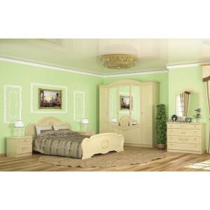 Спальня барокко, комплект №1 Мебель Сервис