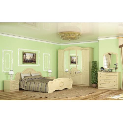 Спальня барокко, комплект №1 Меблі Сервіс