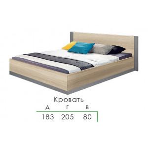 Ліжко з рамкою, Спальня Франческа