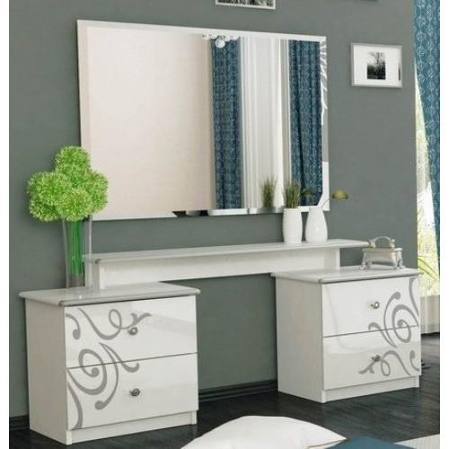 Туалетний столик 4шх, спальня Богема, BG-74-WB Міромарк