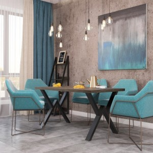 Стол обеденный виннер Металл-дизайн