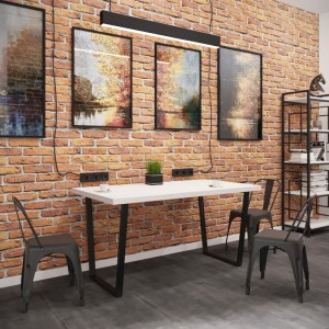 Стол обеденный бинго лайт Металл-дизайн