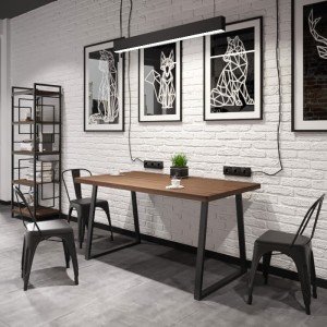 Стол обеденный бинго оверлайт Металл-дизайн