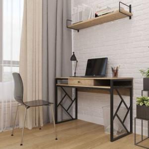 Серия ромбо, стол рабочий Металл-дизайн