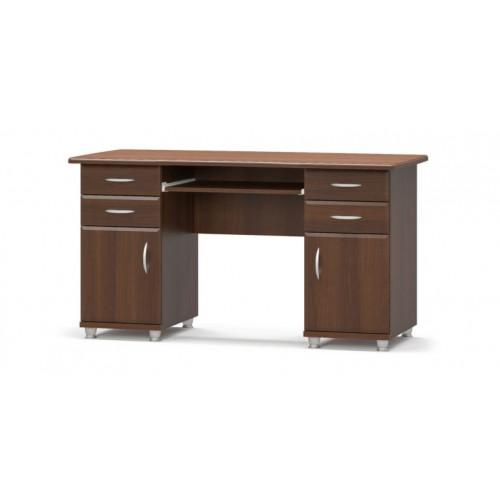 Стол письменный 2-х тумбовый мдф Мебель Сервис