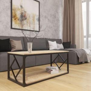 Серия ромбо, стол журнальный Металл-дизайн